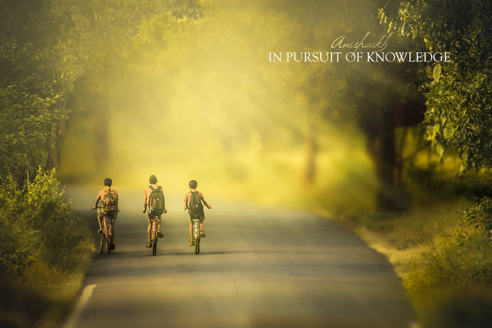 Photograph In Pursuit of Knowledge by Anis Shaikh on 500px