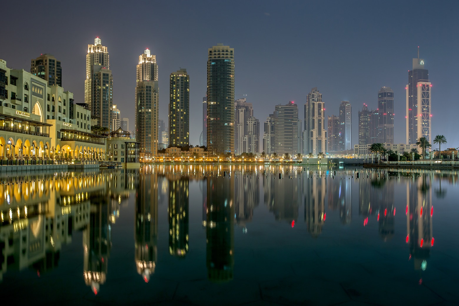 Photograph Dubai in the night by Ronni Santoso on 500px