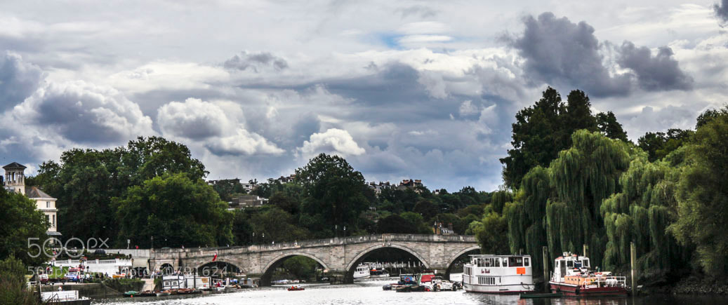 Photograph Over the Richmond Bridge by Javier  on 500px