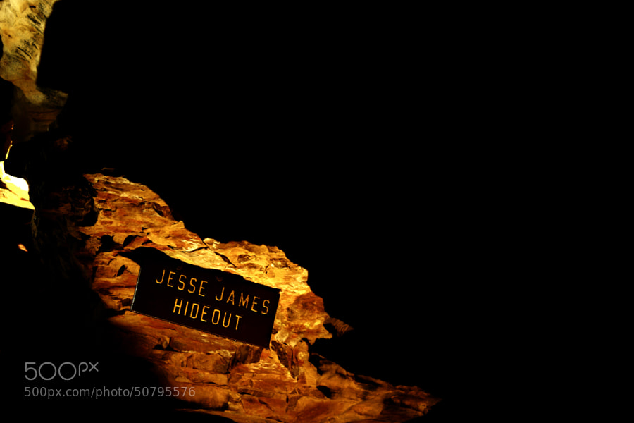 Jesse James Hideout (Mark Twain Cave) by Jeff Carter on 500px.com