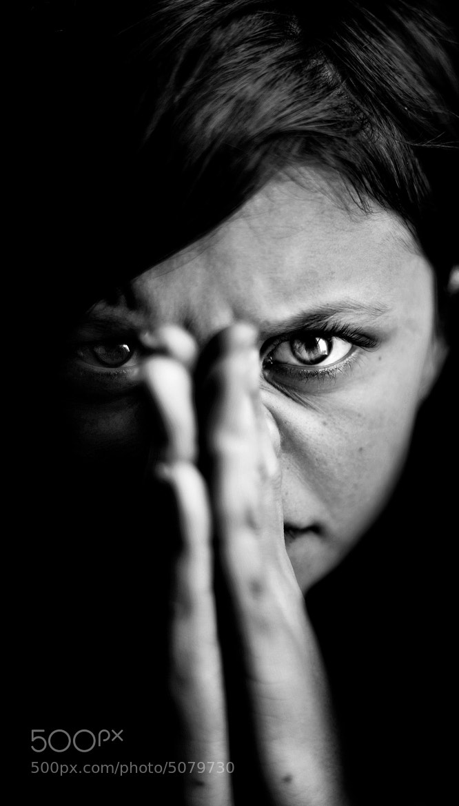 Photograph Take my face by Aidan Photograffeuse on 500px