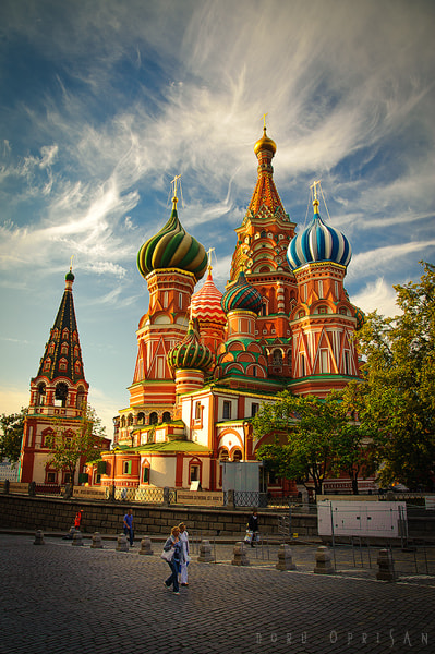 Photograph St. Basil's Cathedral by Doru Oprisan on 500px