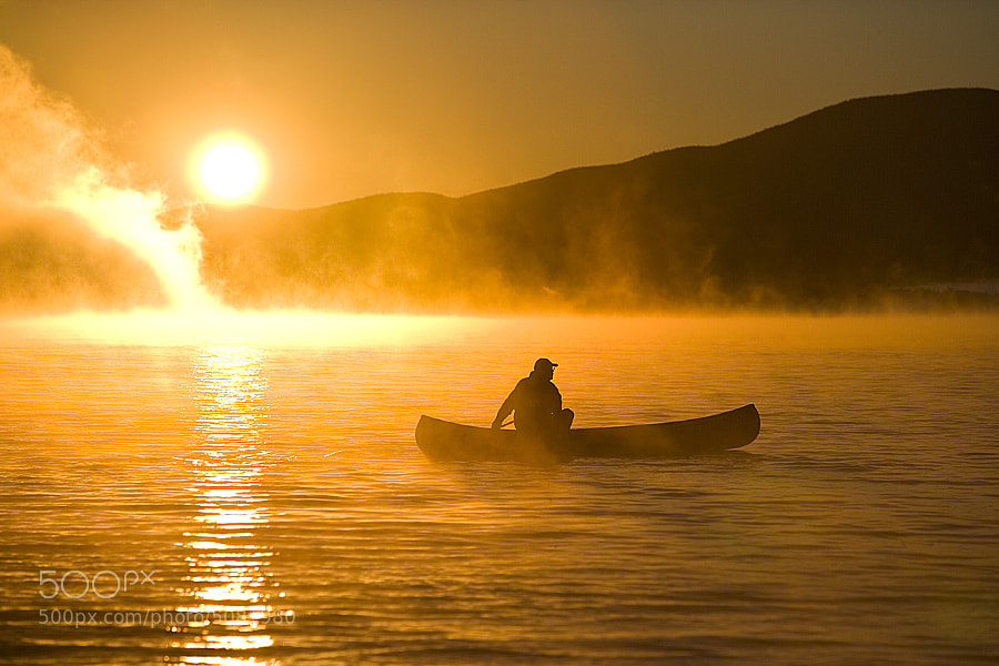 Photograph Canoeing at Sunrise by Jerry Monkman on 500px