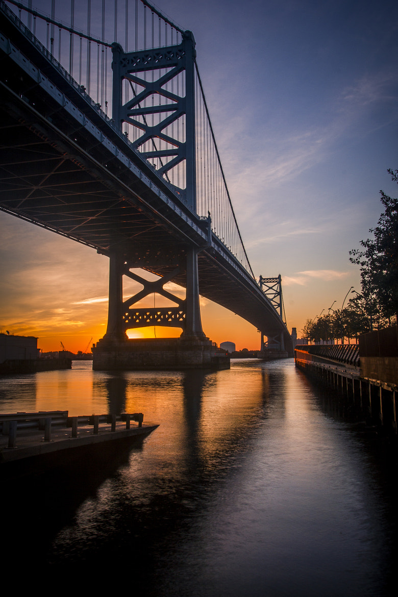 Photograph Ben Franklin at Sunrise by Stuart Cameron on 500px