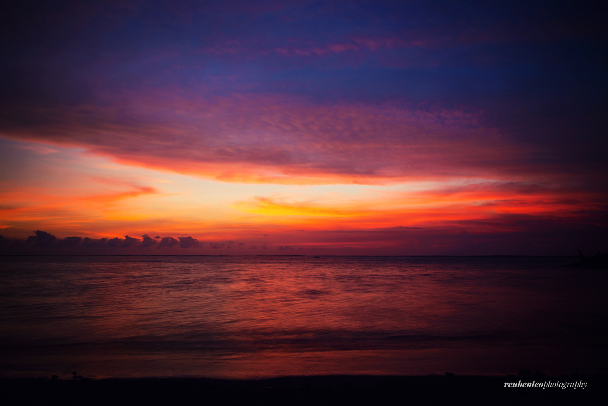 Photograph God's Gradient by Reuben Teo on 500px