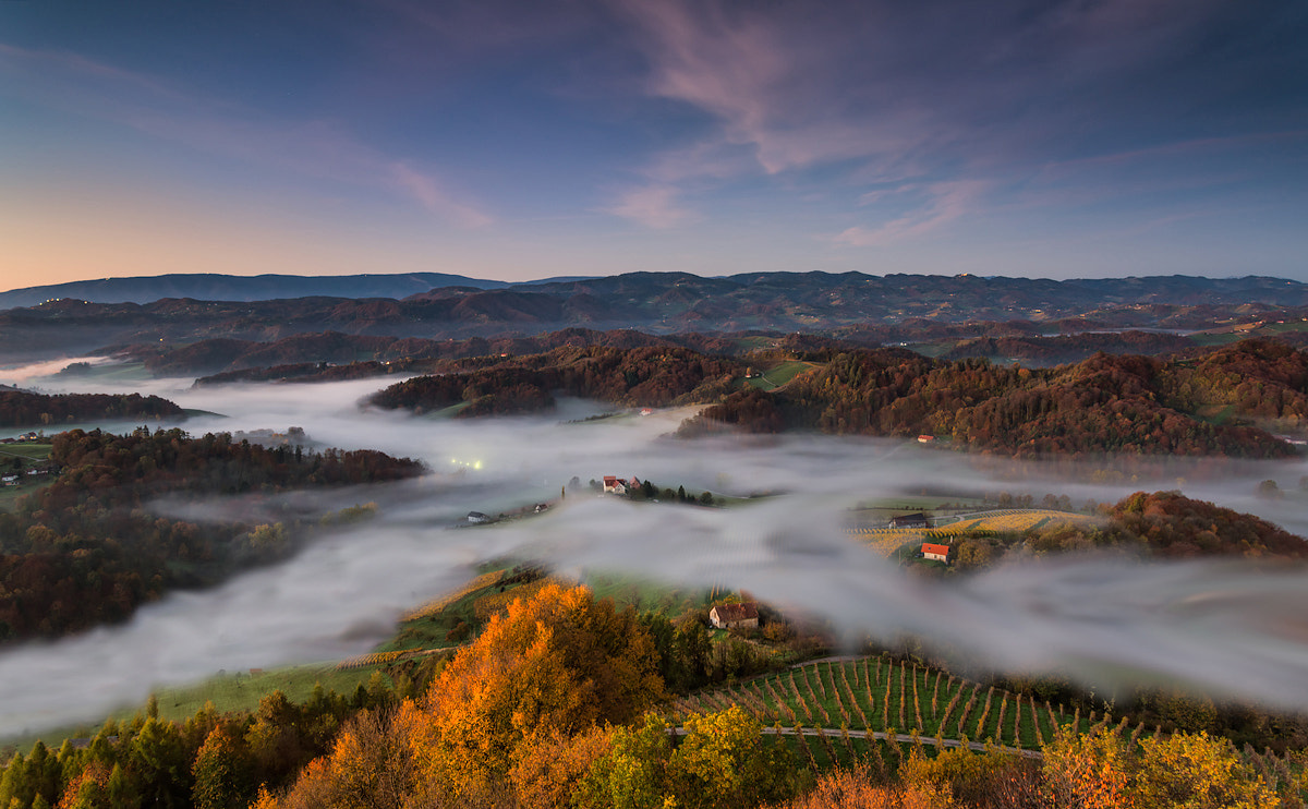 "Photograph ""River"" of mist by Peter Zajfrid on 500px"