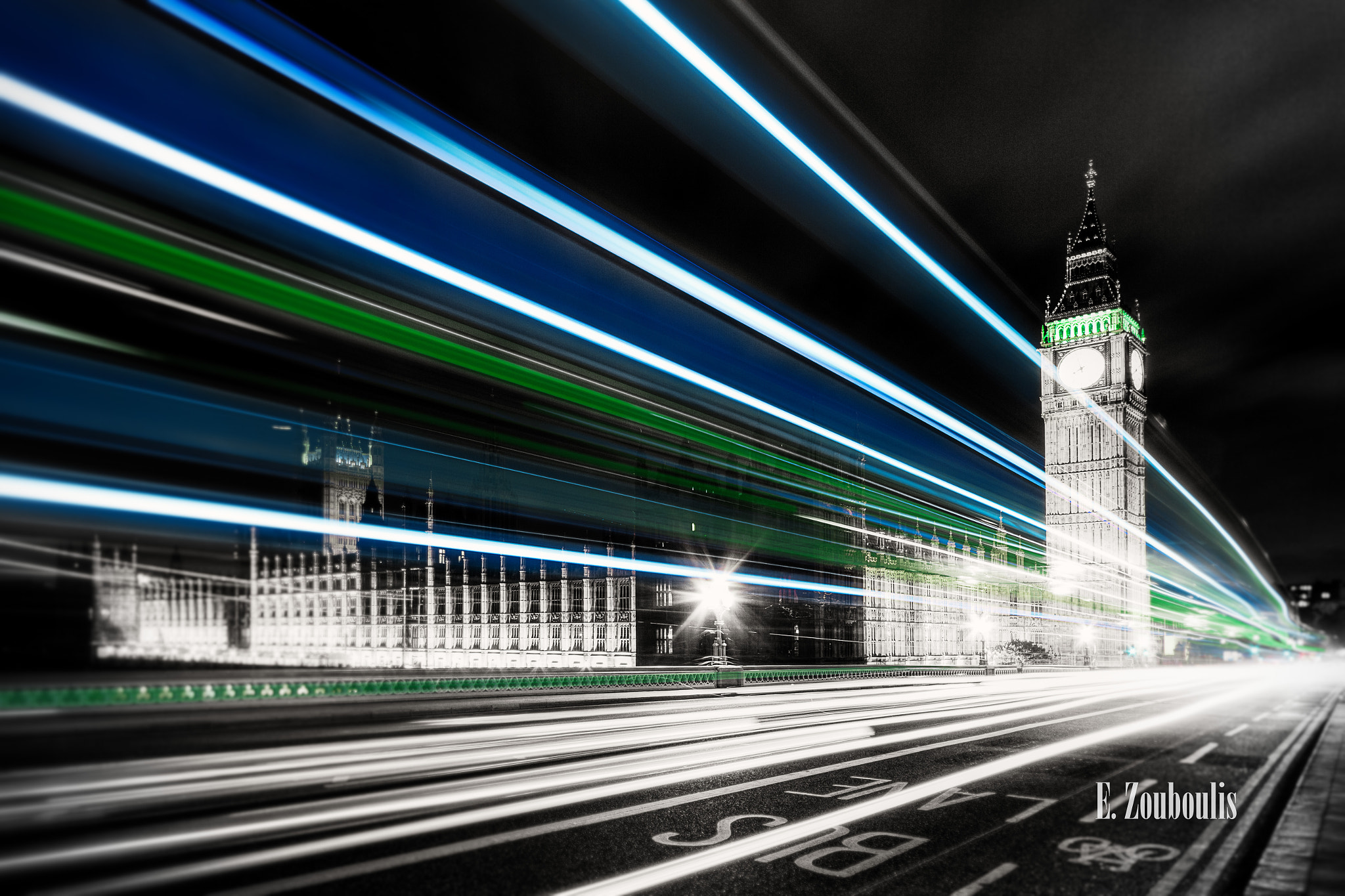 Photograph Big Ben - At The Speed Of Light by Zouboulis Photography on 500px