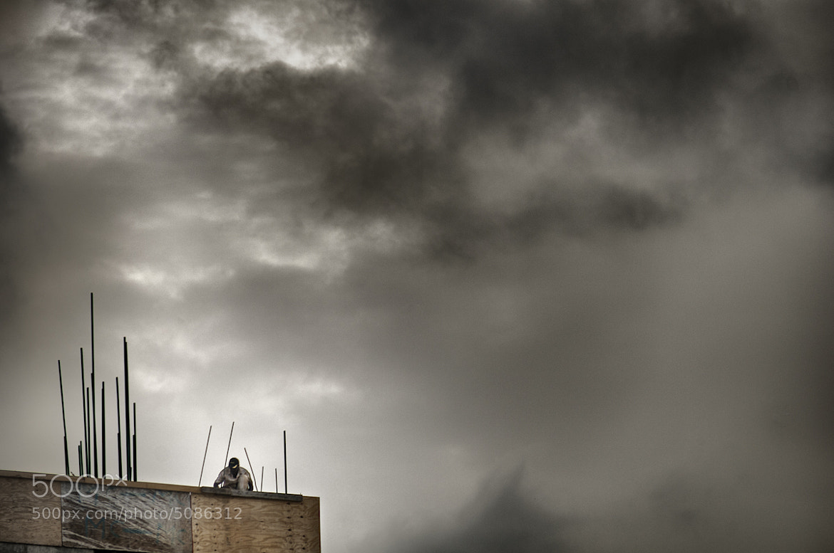 Photograph El reparador de nubes by Pedro Salvador on 500px
