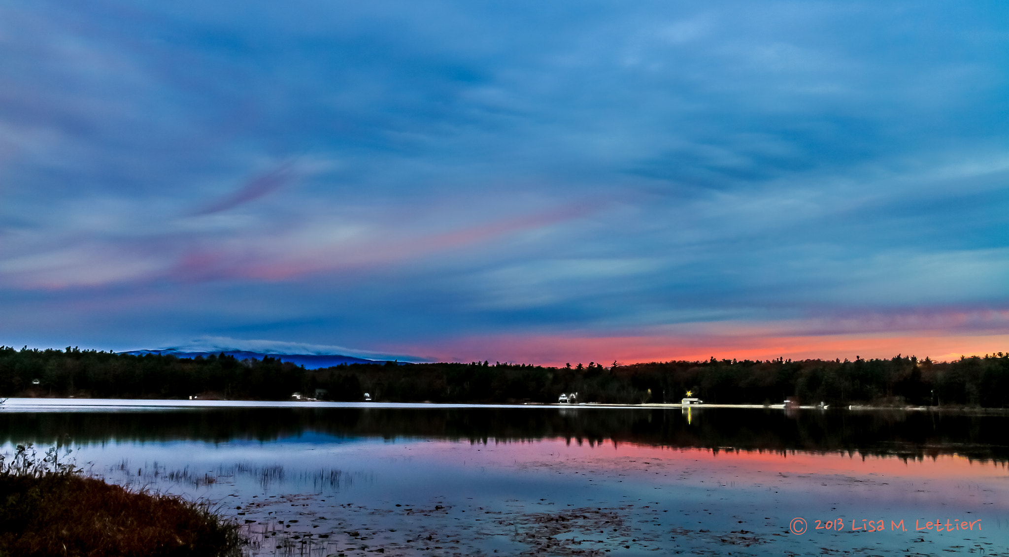 Photograph Morning Sky Over Lake Contoocook by Lisa Lettieri on 500px
