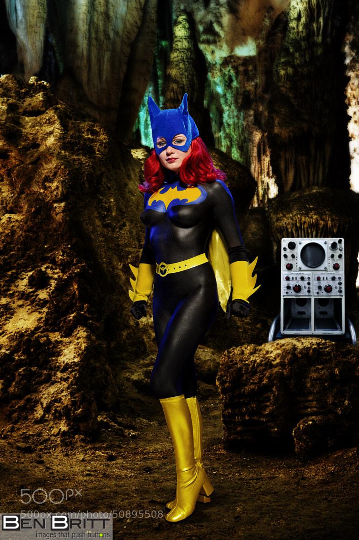 Batgirl in Batcave by Ben Britt on 500px.com