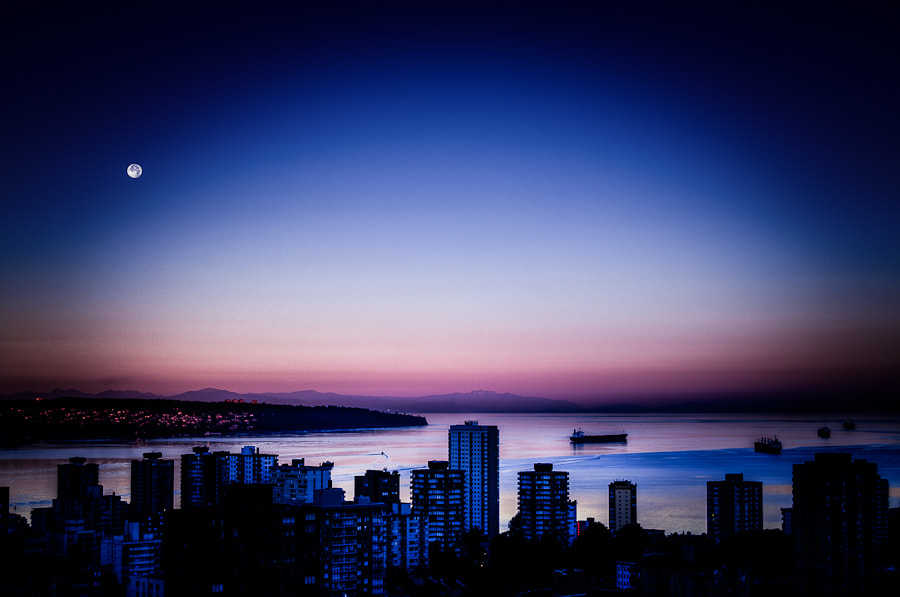 Photograph English Bay by Steve Steinmetz on 500px