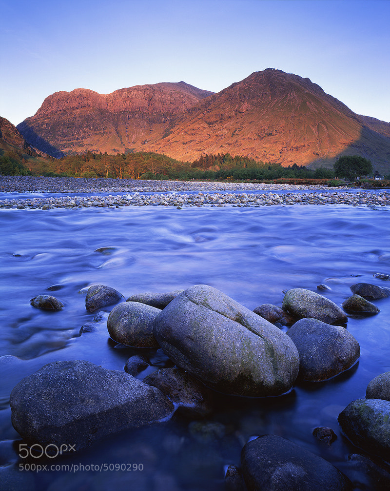 Photograph Evening, River Coe by Edward Fury on 500px