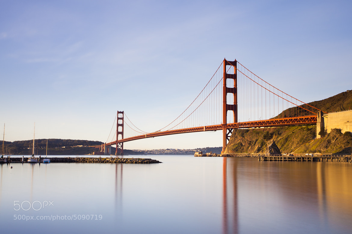 Photograph Golden Gate Morning by Everaldo Coelho on 500px