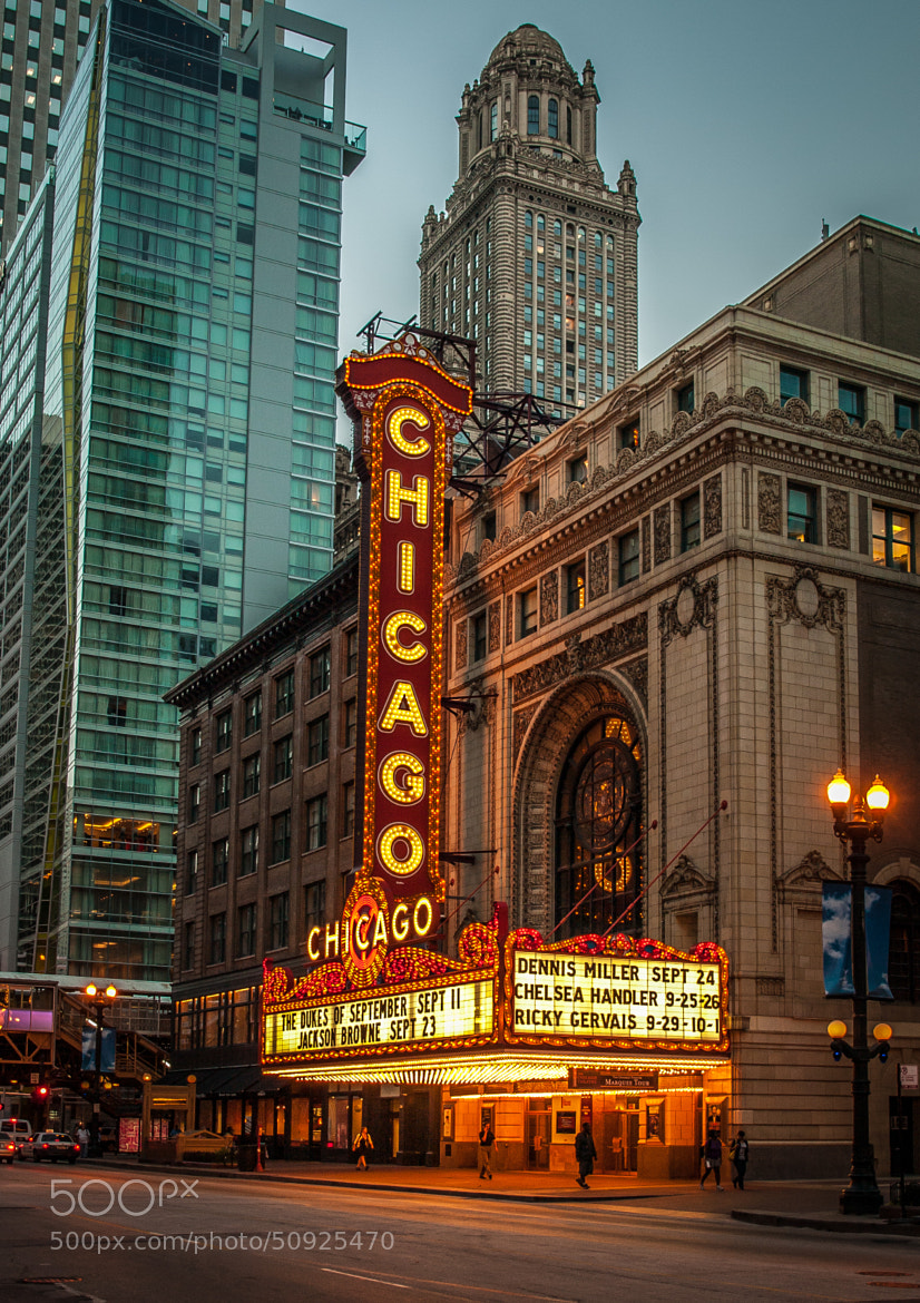 Photograph Chicago Theater by Stevan Tontich on 500px