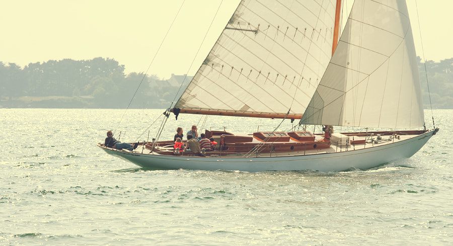 Photograph Classic sailing by Bernard Bailly on 500px
