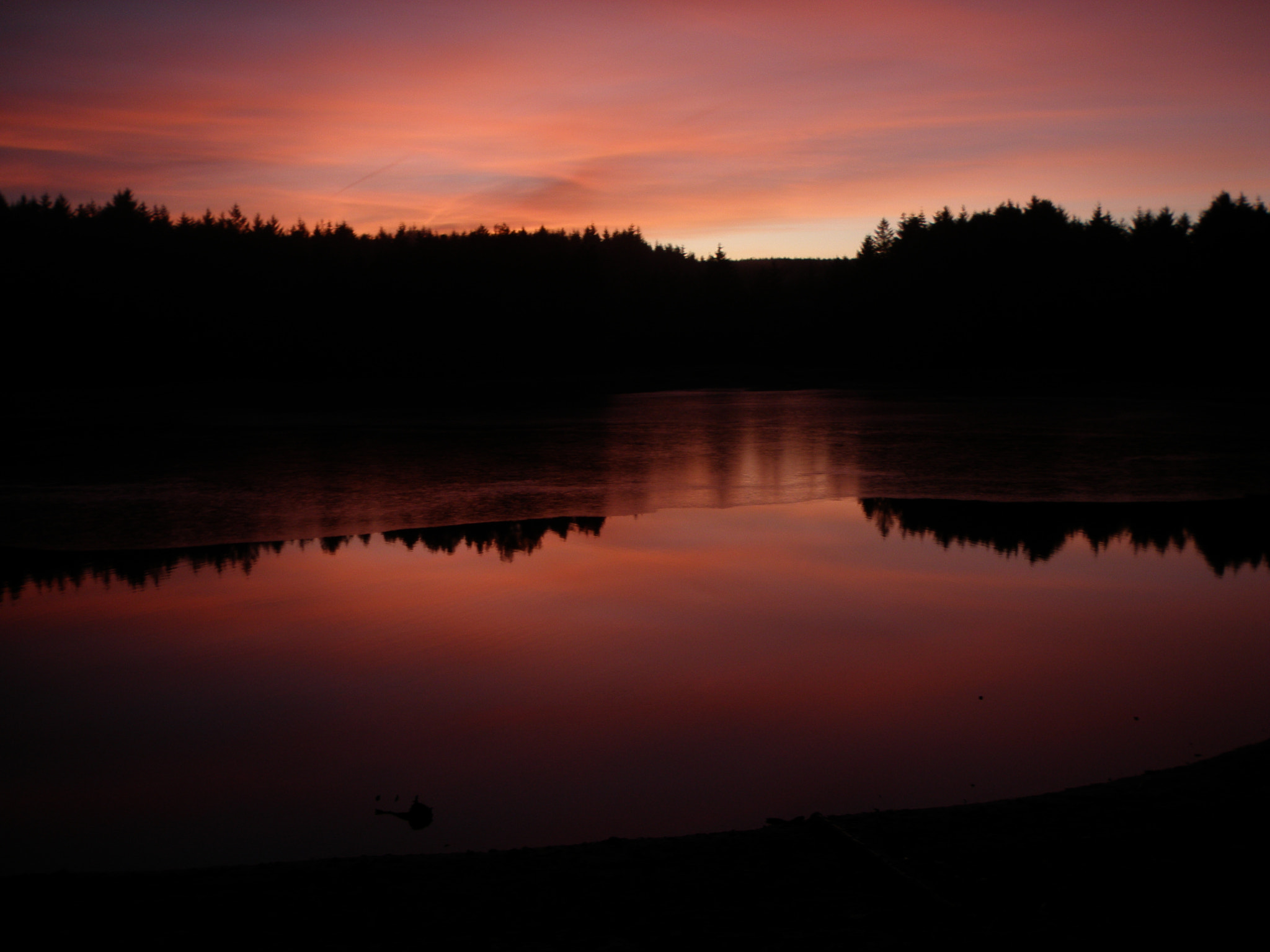 Photograph Sunset at Beecraigs Loch by Dave Scott on 500px