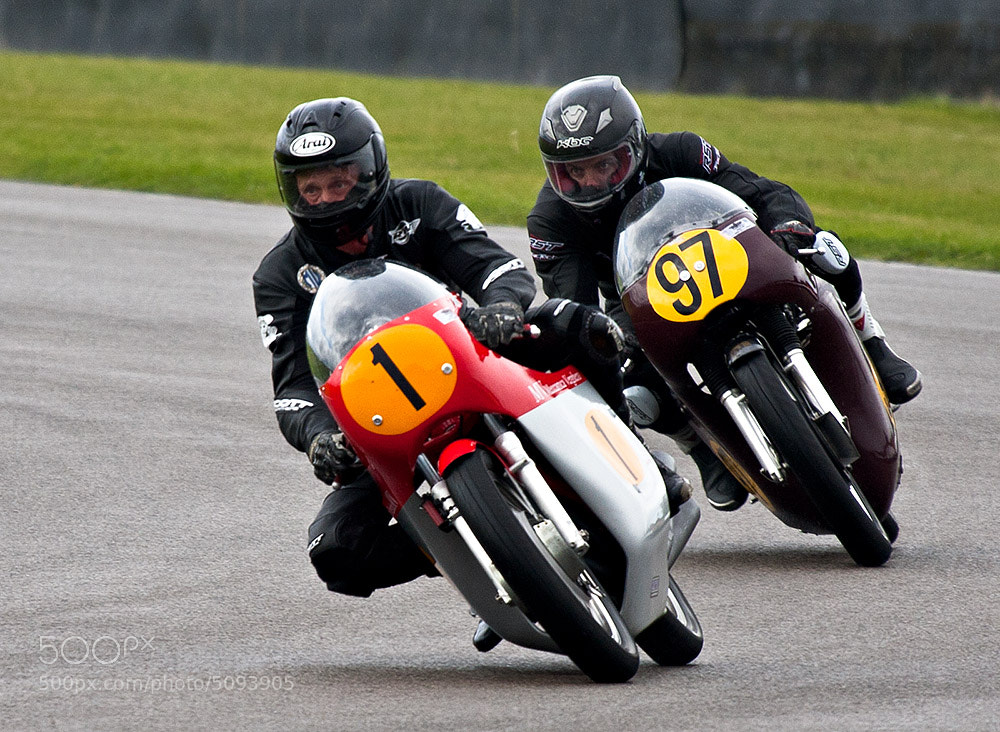 Photograph Vintage motorcycle racing by Laurence Berle on 500px
