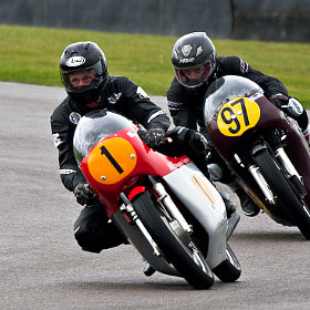 Vintage motorcycle racing by Laurence Berle (engramphotography)) on 500px.com