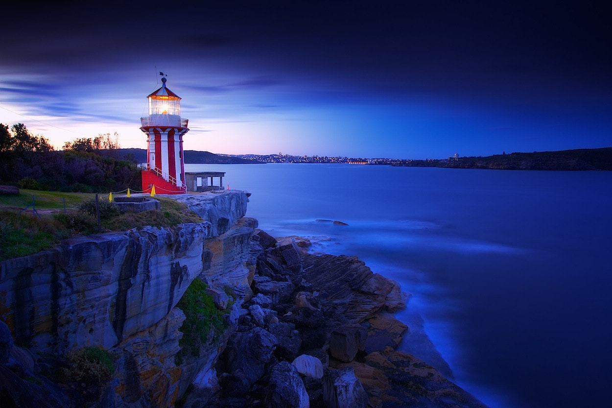 Photograph Hornby Lighthouse Blues by Noval Nugraha on 500px