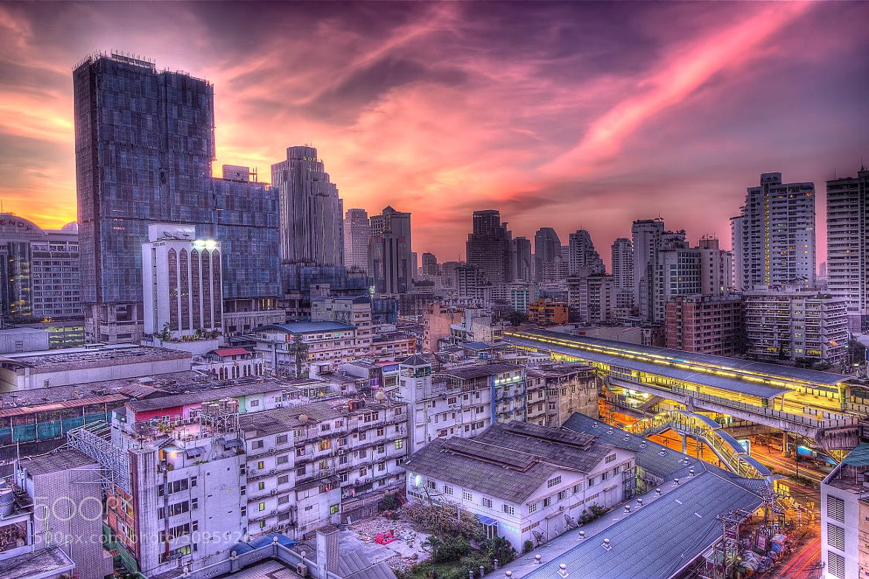 Photograph Bangkok at dawn by Joachim Leppälä on 500px