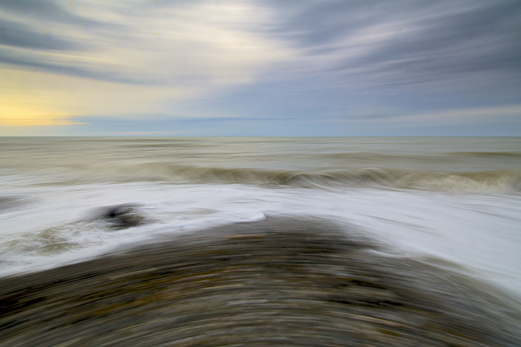 Photograph 'Surreal sea' by John Barker on 500px