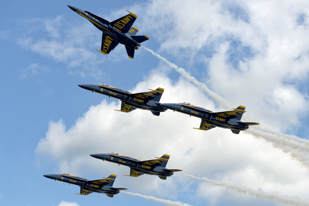 Photograph Blue Angels by Darek Siusta on 500px