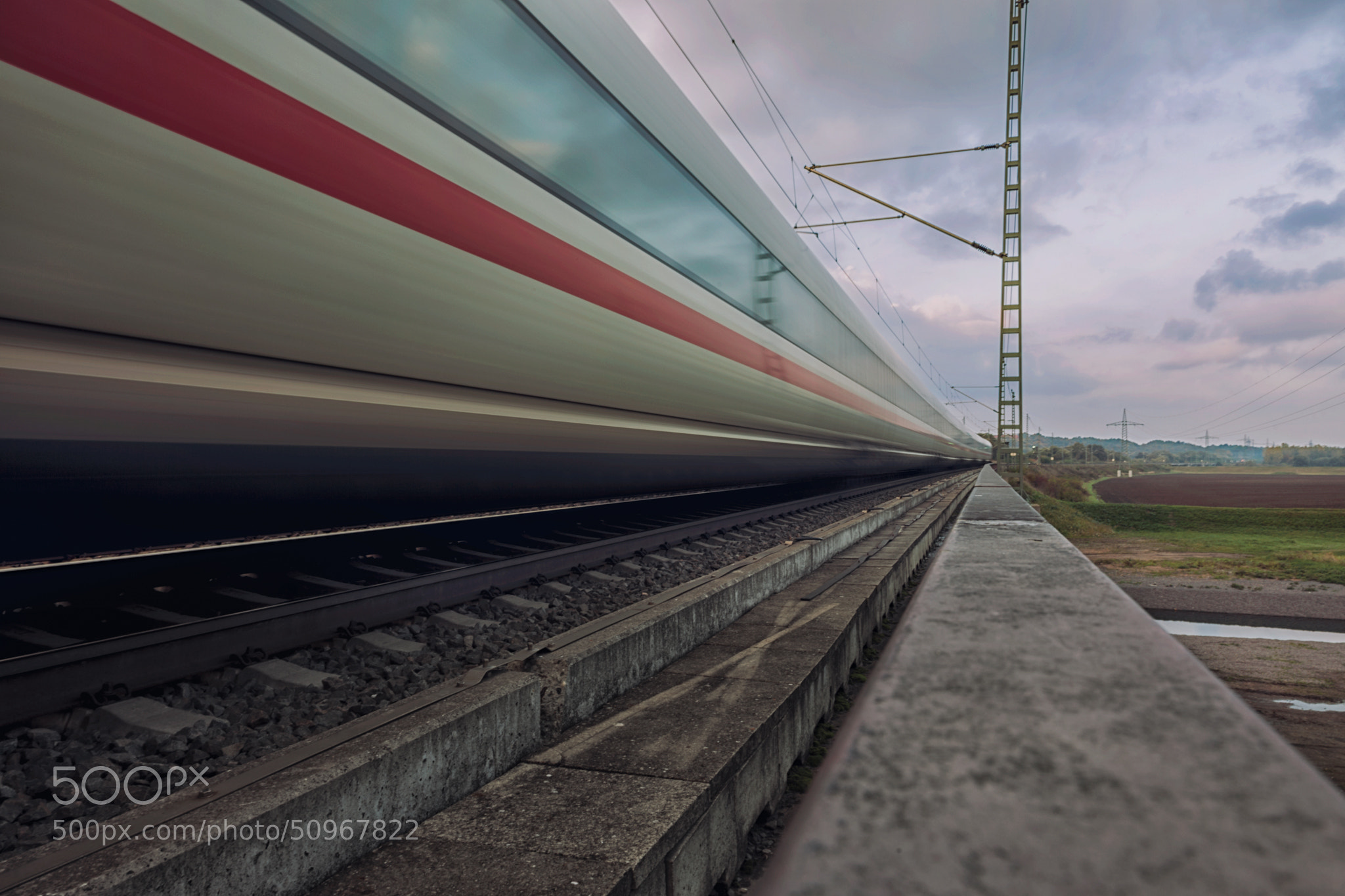 Photograph train by Christian Richter on 500px