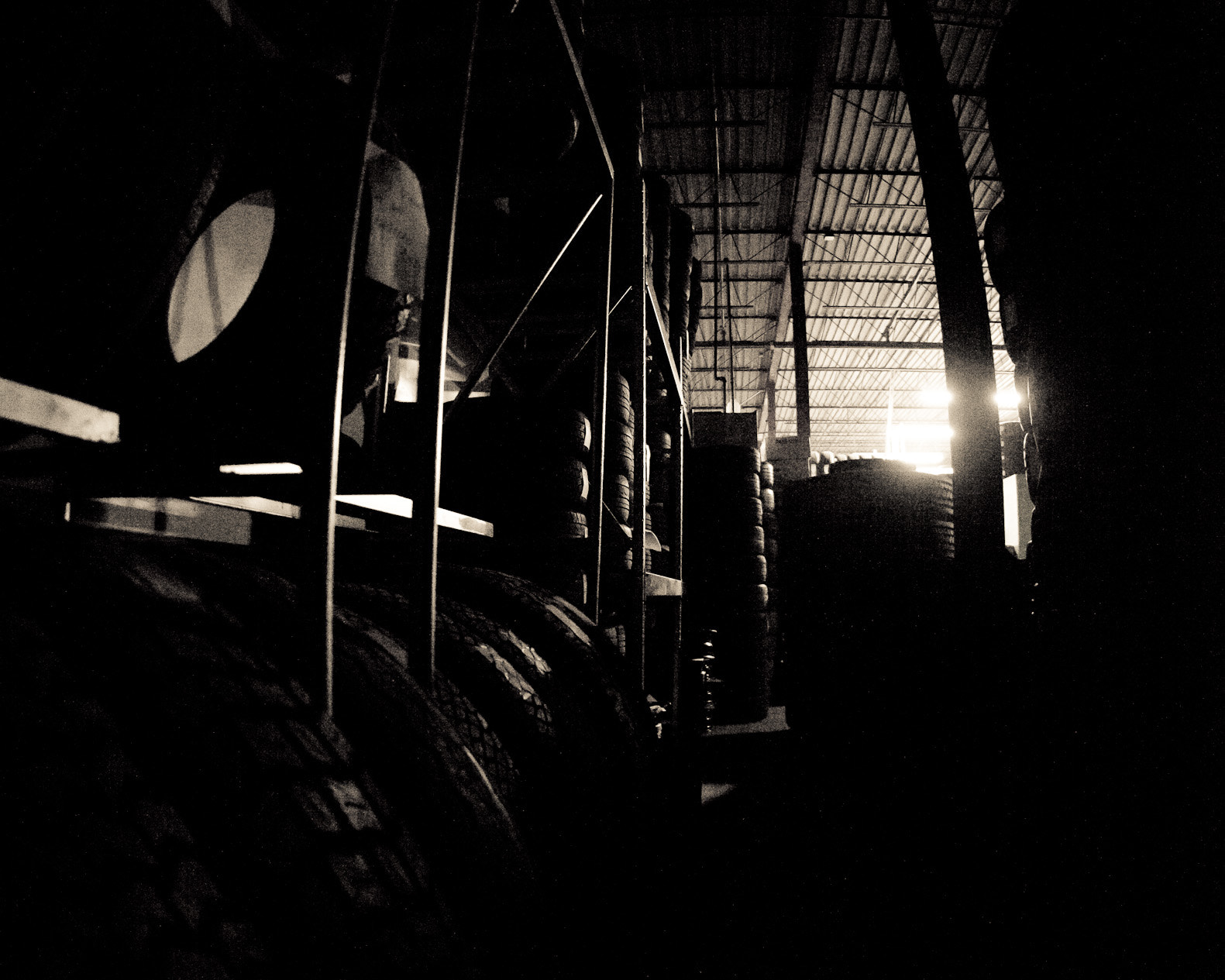 Photograph Tires in the Dark by Raymond Siu on 500px