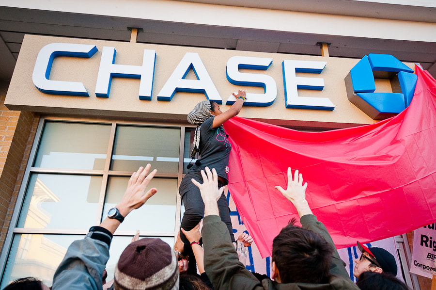 Photograph Taking Over Chase Bank by Cristhtian Perez Molina on 500px