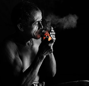 The Last Cigarete by dewan irawan