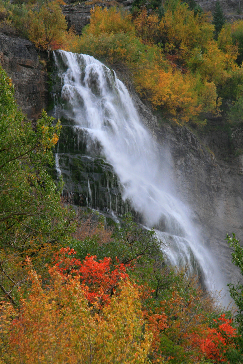 Photograph Bridal Veil Falls in Autumn by Laura Bellamy on 500px
