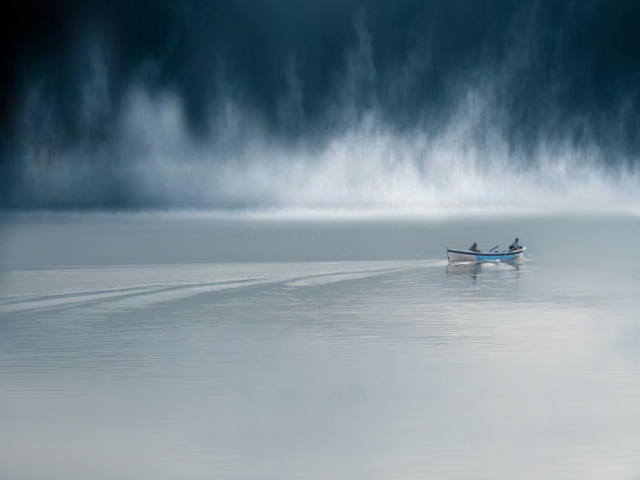 Photograph Storm and Fisherm by Mustafa ILHAN on 500px
