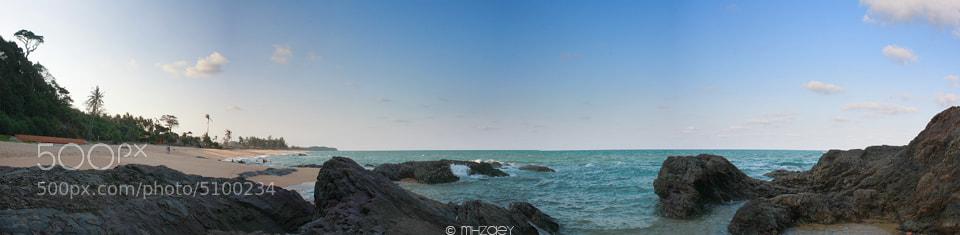 Photograph Panorama Pantai Teluk Bidara by Muhammad Hilmi on 500px
