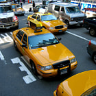 Постер, плакат: New York Cabs