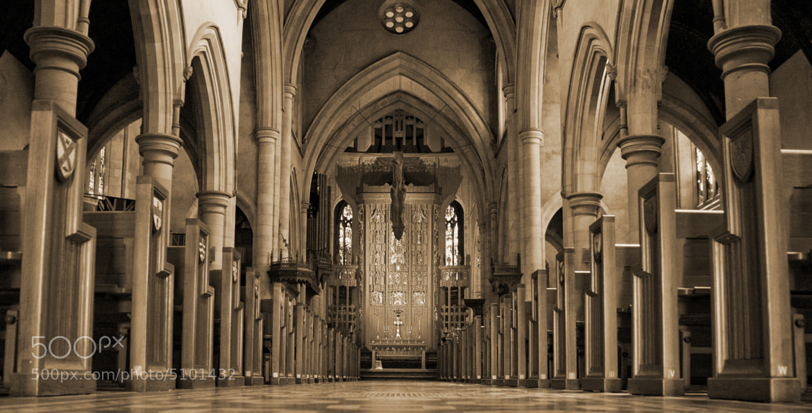 Photograph Cathedral aisle by Lord Veritas on 500px