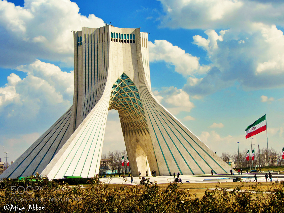 Photograph Tehran's Liberty Square by Atiye Abbasi on 500px