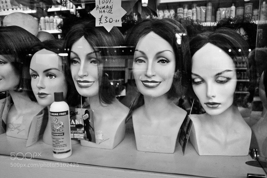 Photograph 100% human hair - Cardiff by Byron Edwards on 500px