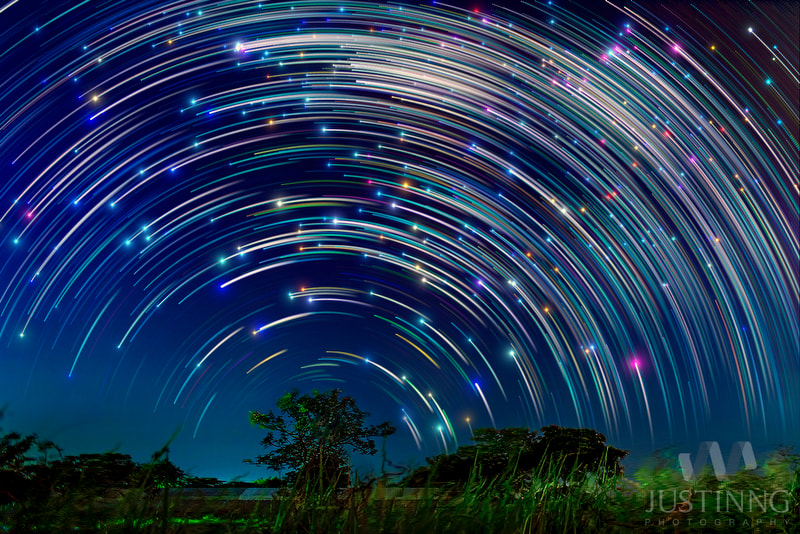 Photograph Starry Night in Singapore by Justin Ng on 500px