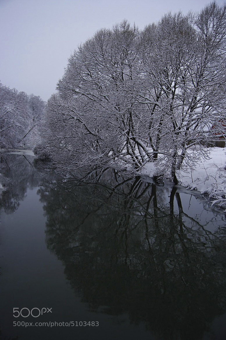 Photograph Snow and reflections by I'm Olga on 500px