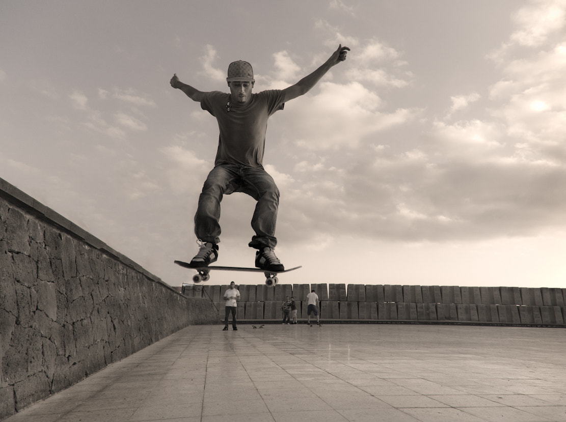 Photograph The skater by audun nygaard on 500px