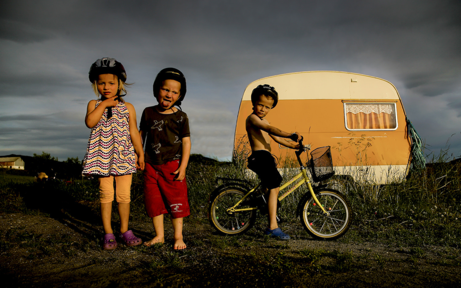 Photograph Camping kids by audun nygaard on 500px