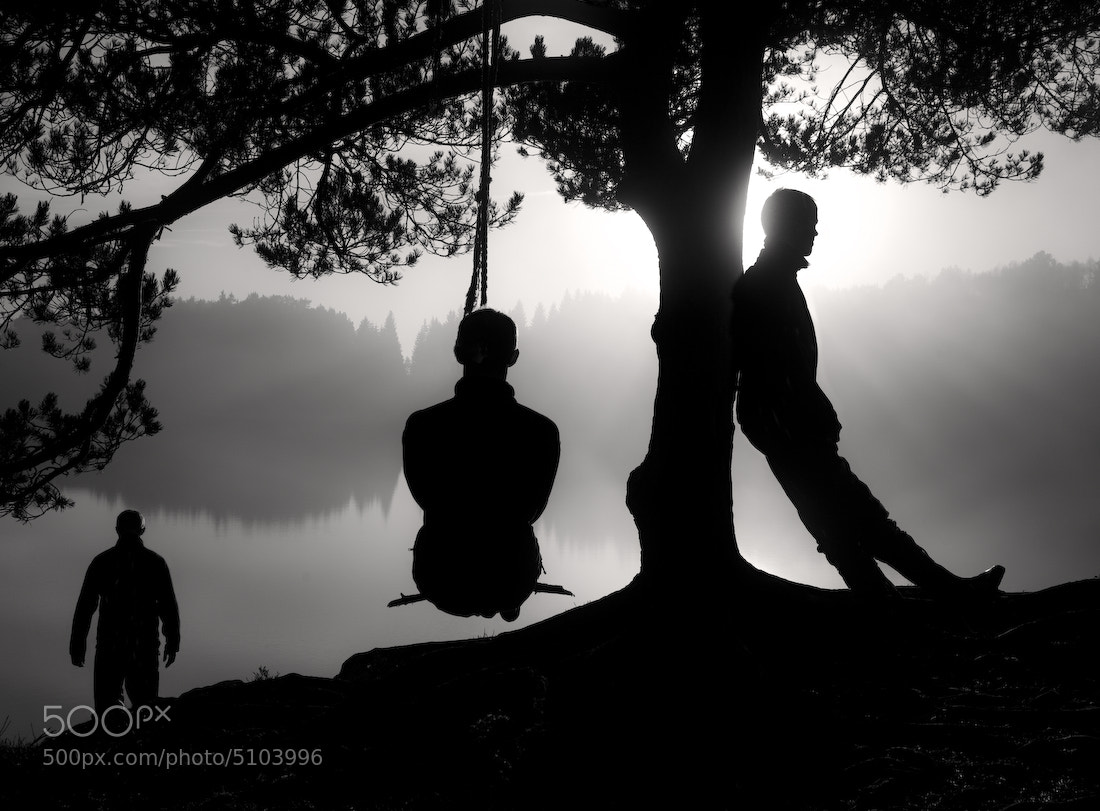 Photograph Me, me and me by audun nygaard on 500px