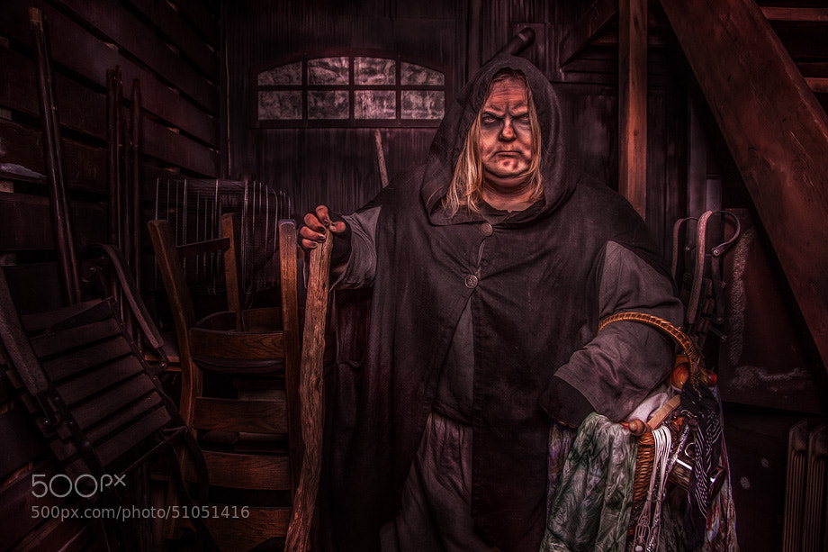 Photograph THE WITCH by Calvin Hollywood on 500px