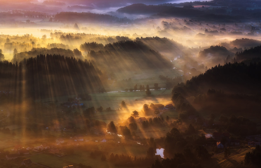 Photograph Magic Morning by Paweł Uchorczak on 500px