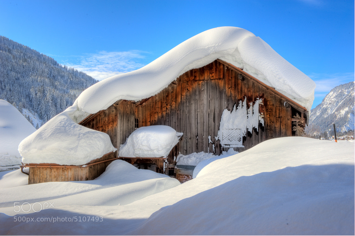 Photograph Packing of snow by Günther Rudigier on 500px