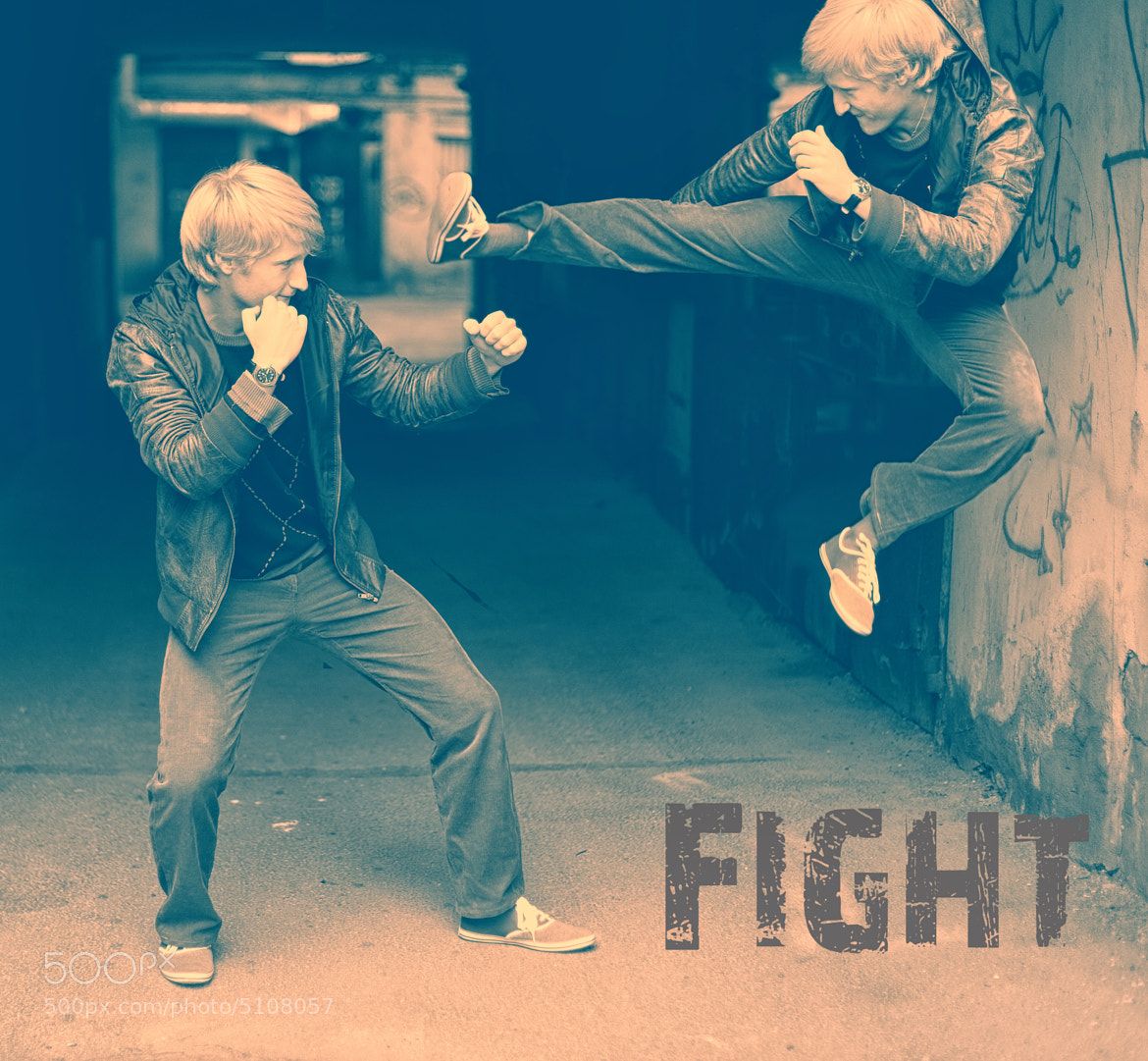 Photograph Fight by Ilia Smirnov on 500px