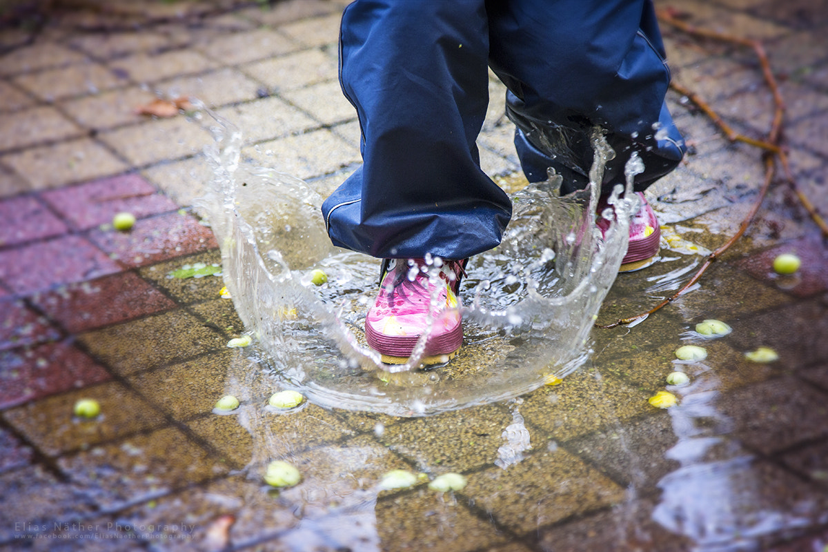 Photograph Having Fun with the Puddle by Elias Näther on 500px