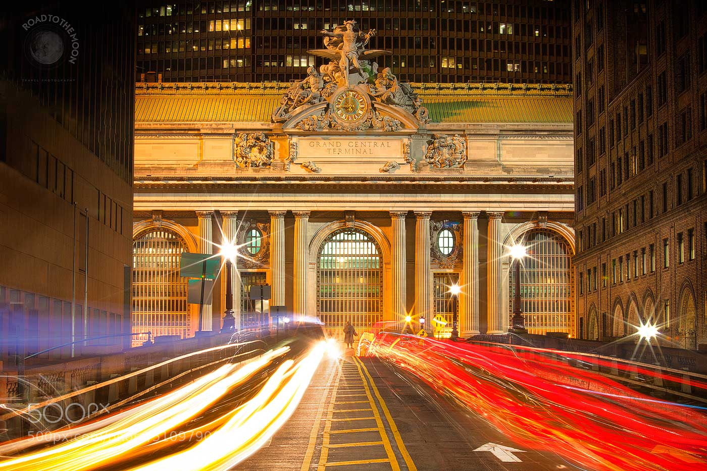 Photograph Central Station NYC (color version) by Road to the moon // Travel Photography // on 500px