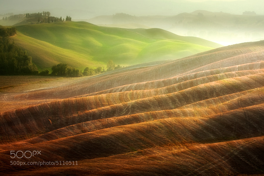 Photograph Autumn on the fields by Marcin Sobas on 500px
