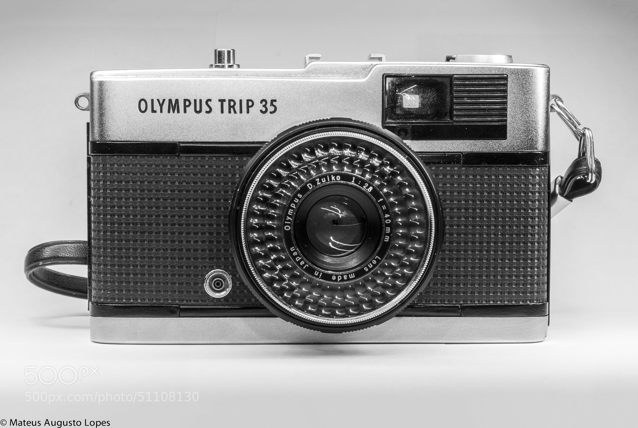 Photograph Olympus Trip 35 by Mateus Lopes on 500px